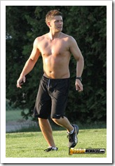 Jensen Ackles shirtless 3