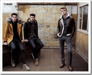 Francisco Lachowski, Jason Wilder and Tara Koltun for T.I for Men FW11