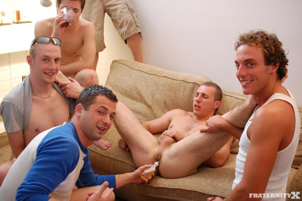 Young men receiving enemas gay city