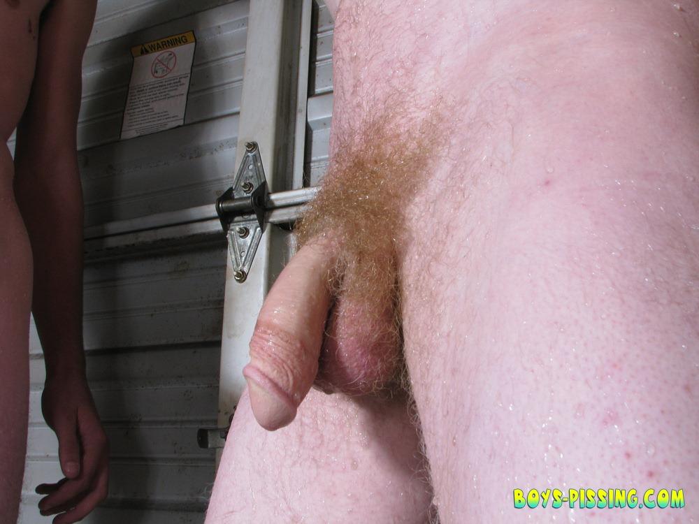 Straight boys peeing nude photos