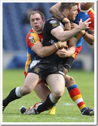 Bradford Bulls rugby player Luke Gale (1)