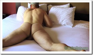 Ryan III Shows Off His Assets In 2nd Solo on active duty gay-sex-video (7)